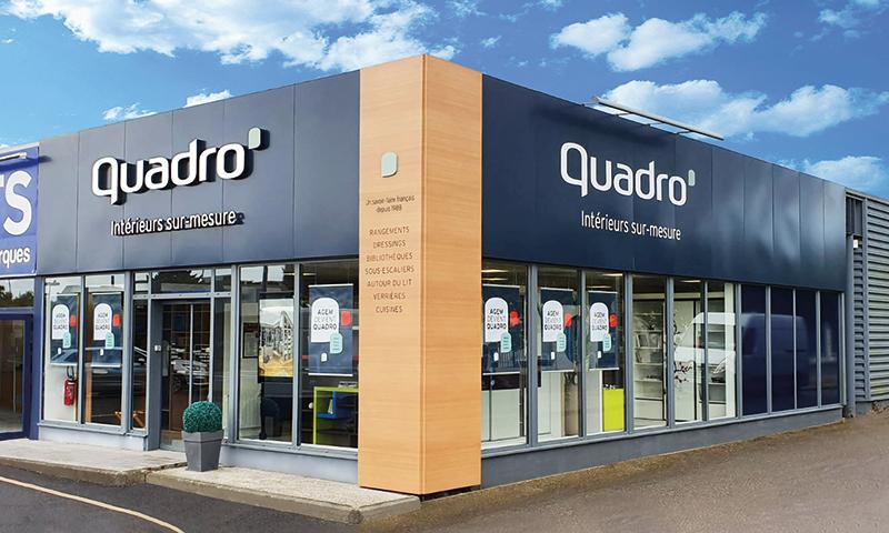 WeSmart - Affichage dynamique & digital pour Quadro