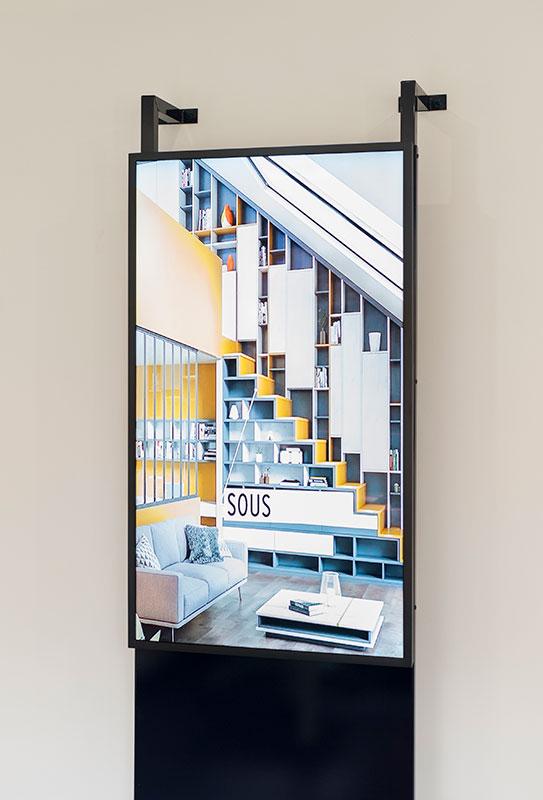 WeSmart écran digital pour Quadro