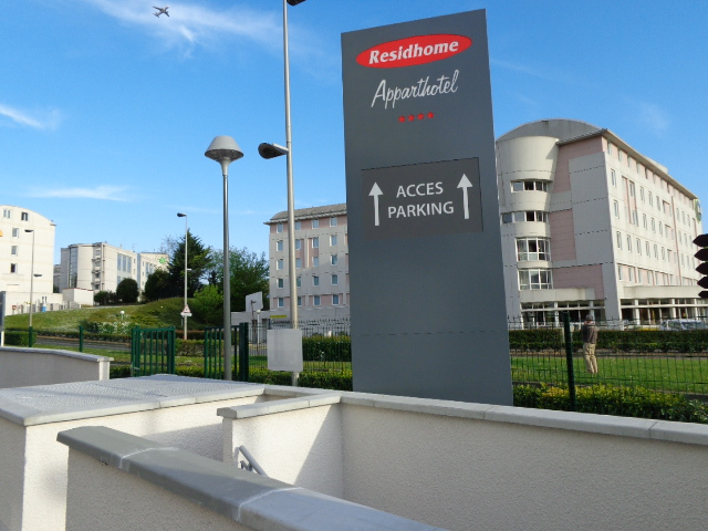 Résighome - Apparthotel enseigne