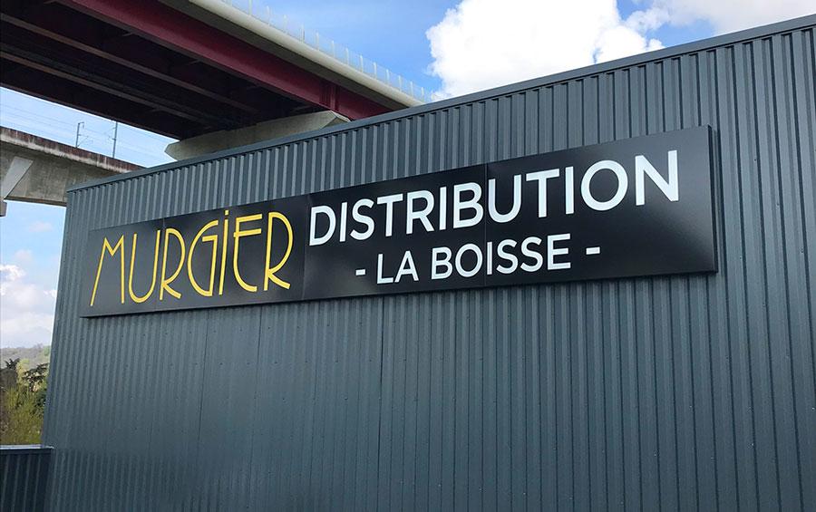 Siège social Groupe Murgier Distribution - La Boisse