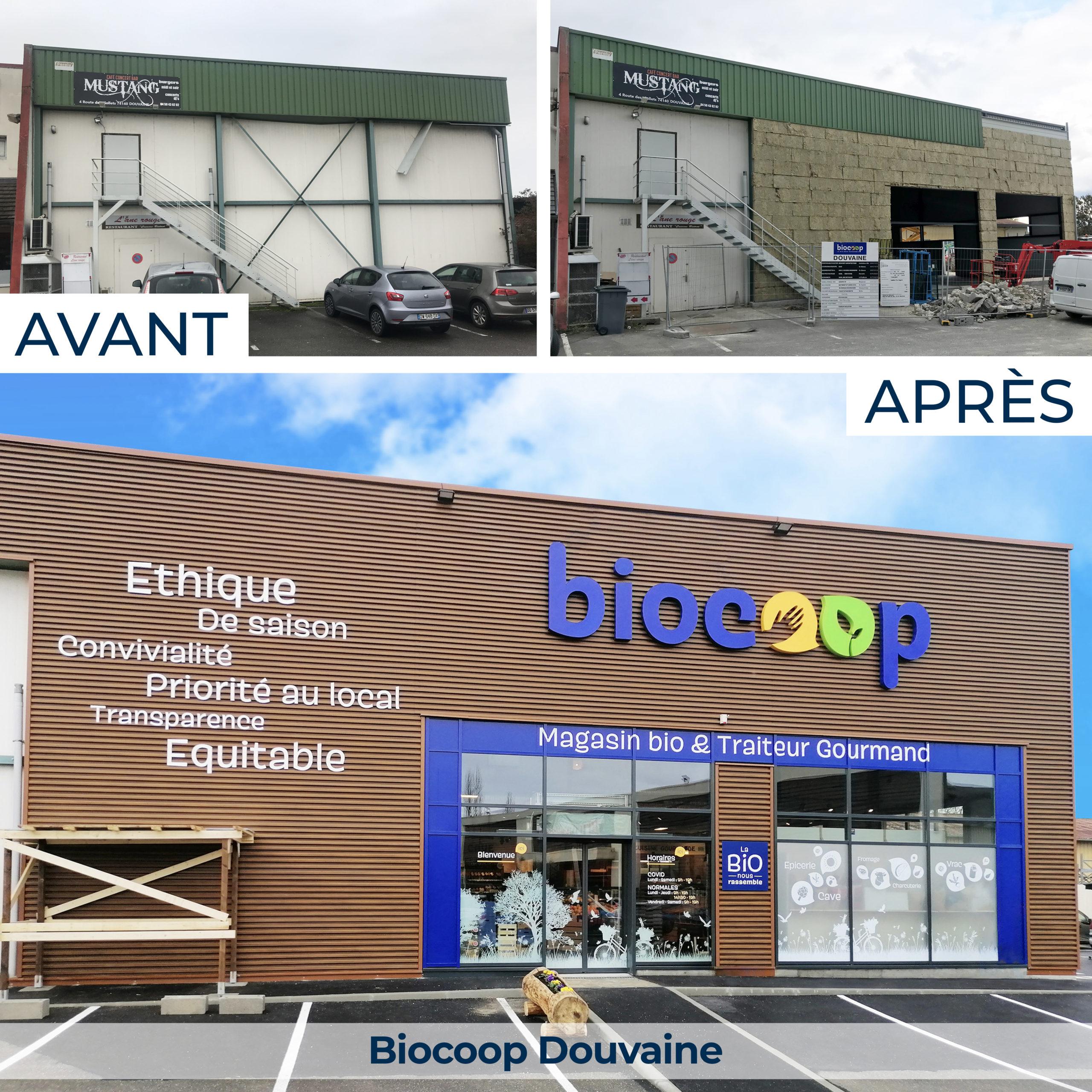 Biocoop Douvaine, magasin spécialisé en alimentation bio et local