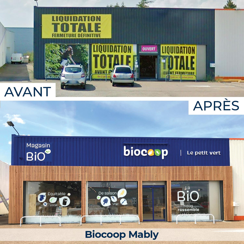 Biocoop Mably, magasin spécialisé en alimentation bio et local