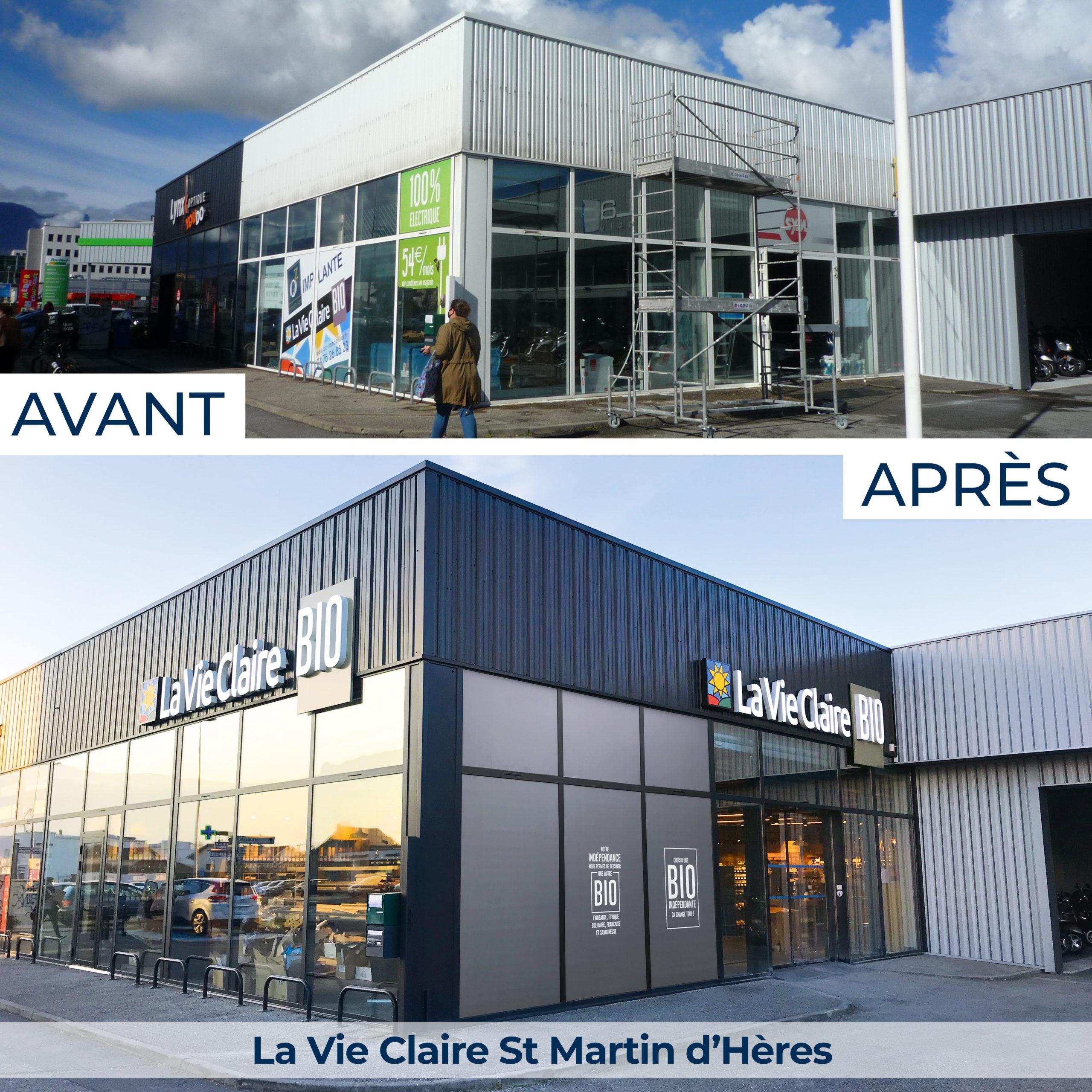 La Vie Claire Saint Martin d'Hères, magasin spécialisé en alimentation bio