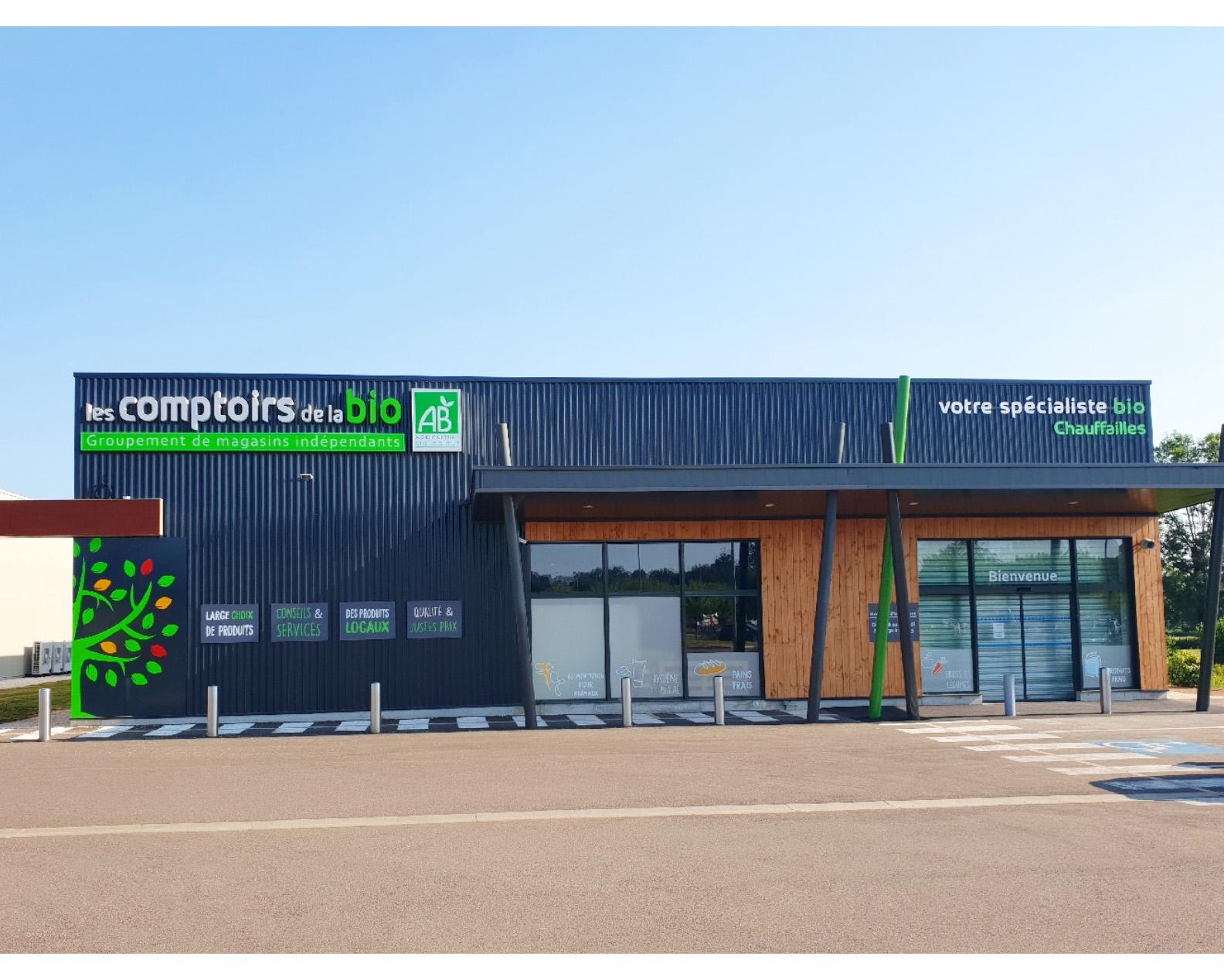 Les Comptoirs de la Bio Chauffailles, magasin spécialisé en alimentation bio et local